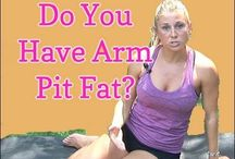 Arm Pit Fat Exercises / by Wanda Wright