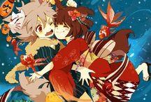 Older fubuki and konko / --