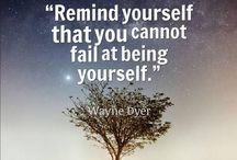 Inspirational Quotes / Inspirational quotes by any one who wants to share these
