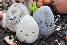Investir dans la pierre / Cailloux, roches et déco.