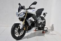 Triumph 675 Street Triple 2013/2016 by Ermax Design / Accessories, nose fairing, belly pan, rear hugger