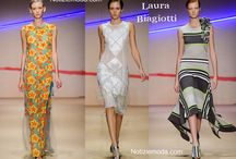 Laura Biagiotti / Laura Biagiotti collezione e catalogo primavera estate e autunno inverno abiti abbigliamento accessori scarpe borse sfilata donna.