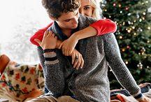 ζευγάρι τα Χριστούγεννα