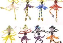Beaded fairies