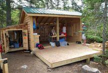 Kids play structures, yard fun ideas