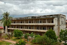 Security Prison 21 (S-21) Cambodia / The site is a former high school which was used as the notorious Security Prison 21 (S-21) by the Khmer Rouge regime from its rise to power in 1975 to its fall in 1979.
