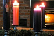 Liturgical Year: Advent / When people see a life well lived, they are drawn by its beauty and then beyond to the source to which it points, and to which that life is ordered: God.--David Clayton