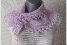 Маленький шарфик / В моем магазинчике можно купить готовый шарфик ручной работы.