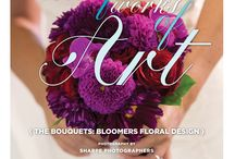"""Beautiful Works of Art: The Bouquets {Bloomers Floral Design} / From the """"Beautiful Works of Art"""" Cover Model Contest feature in the Winter/Spring 2014 issue of Real Weddings Magazine, Photography by www.SharpePhotographers.com © Real Weddings Magazine, www.realweddingsmag.com. Bouquets by www.sacramentofloraldesign.com. To see more, including a full list of all of the professionals on this shoot, visit: http://www.realweddingsmag.com/beautiful-works-of-art-the-bouquets-bloomers-floral-design/"""