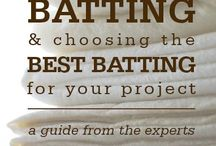 Quilting - batting