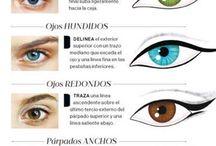 líneas ojos