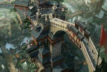 fantasy city
