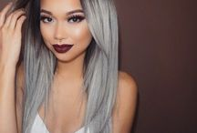 Twisted Hair Obsession. / Grey hair.
