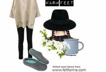 Personalized Wool Shoes on Blogs / Blogging - Felt Forma