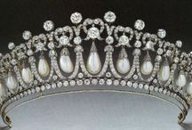 Bling Tiaras/Crowns/Royal Jewels / by Connie Richard