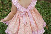 pamut lány ruha