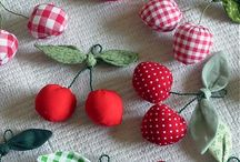 Cherries / For the love of #cherries! Crafting, sewing, knitting with cherry designs.