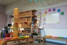 Inredning i klassrum