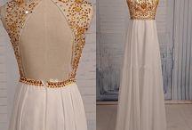 dlhe šaty