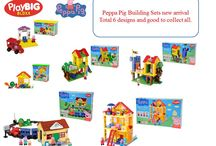 Peppa Pigs Building Sets new arrival