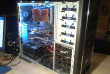 My Custom Pc's / My projects, custom pc's and parts, DIY creations, fixed pc's, etc etc..