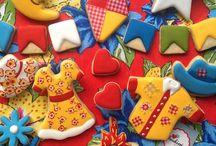 Biscoitos decorados / Biscoito