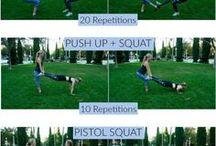 cvičení ve dvojici