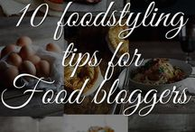 Food styling / Handy tips to read up about & inspiration