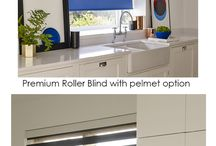 Kitchen Roller Blinds / Kitchens are the hub of any home and are used day and night. Choosing the best blinds for your kitchen is easy with Bloc Blinds made to measure award winning range of window blinds available to order online.