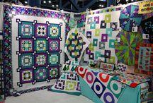 Quilt Market Booths