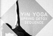 yin / yin yoga