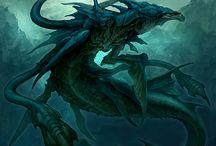The levithan seas god