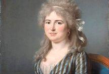 1780-1799 Georgian - Striped Gowns