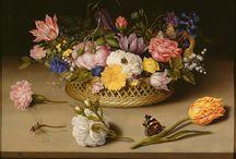 Ambrosius Bosschaert the Elder (1573 – 1621) / Dutch Art.