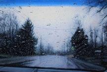 Rainy hurry