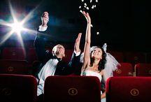 Sesja ślubna w kinie / Chodzicie na film czy do kina? :)