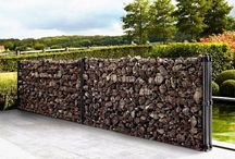 architecture - gabion walls and other