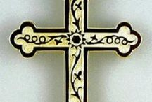 Crosses - Symmetry Jewelers / A variety of specialized crosses for jewelry, most available as pendants.   May not all be available immediately; call to inquire or custom order yours.