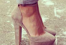 On my feet / !