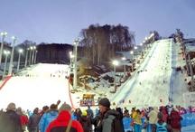 Sochi - Freestyle, Snowboard World Cups / Sochi 2014 hosts the Freestyle and Snowboard World Cups in Sochi, Russia.