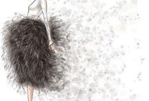 Inspirações - fashion illustration