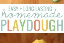 Play dough that is easy to make