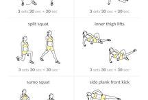 Legs slimming workout
