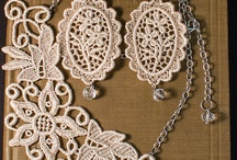 Lace & textile jewelry