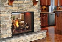 Fireplaces / by Tammy Fries