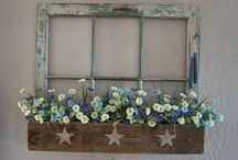 OLD WINDOW PROJECTS / by Tricia Sydor