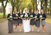 Wisconsin Fall Weddings / Fall weddings are starting to become more popular with the beautiful colors of Wisconsin. Check out some of the fall weddings we've had the pleasure of photographing!