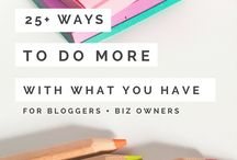 BLOGGING / Blogging doesn't have to be complicated, it should be fun! Great ideas for simplifying the blogging process.