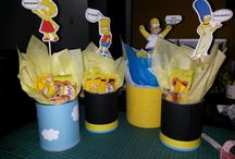 .:: Simpsons ::. / Here are some cool DIY ideas for an adult birthday party. Simpsons Style!! Enjoy!