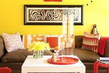 Home {Living Rooms} / by Stephani Obenauf